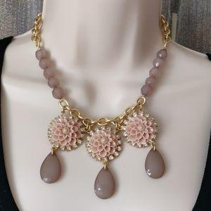 Lia Sophia floral necklace (#212)